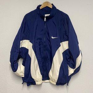 Vintage Nike Windbreaker Big Logo White Tag Sz XL